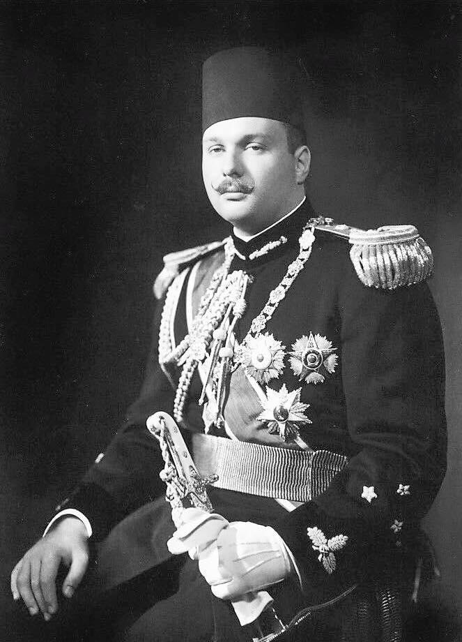 Le roi Farouk I