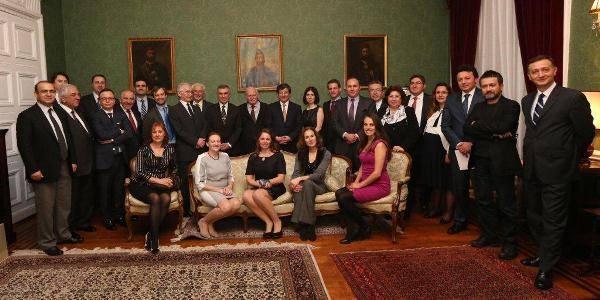 La famille impériale Turque à Londres