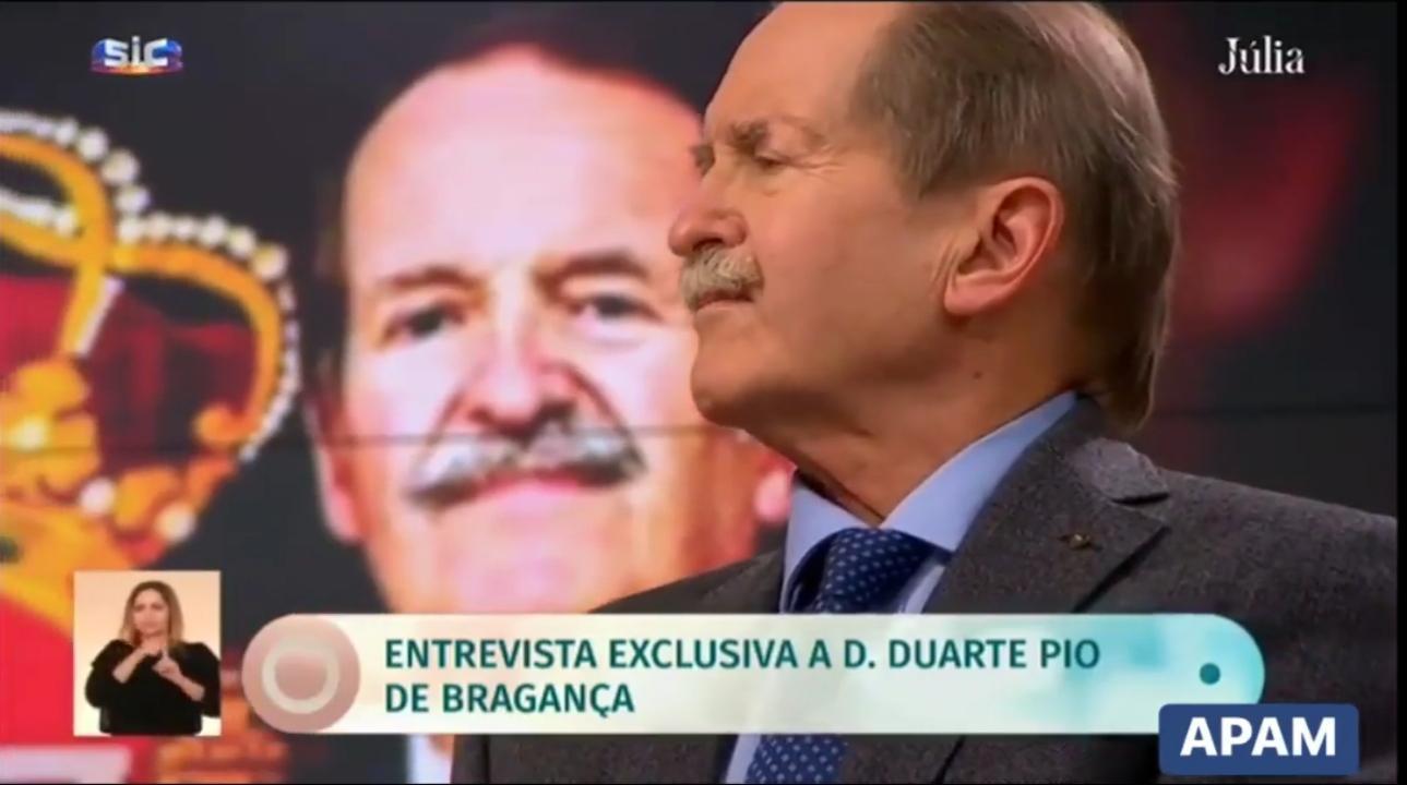 Dom Duarte -Pio interviewé par Julia Pinheiro Pêgo
