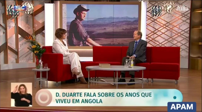 Les années Angolaises de Dom Duarte
