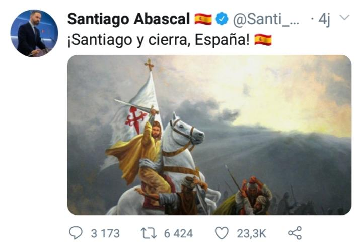 La Reconquista selon le parti Vox