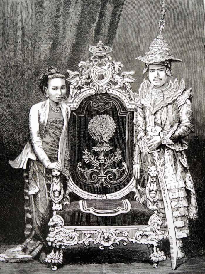 Le roi Thibaw