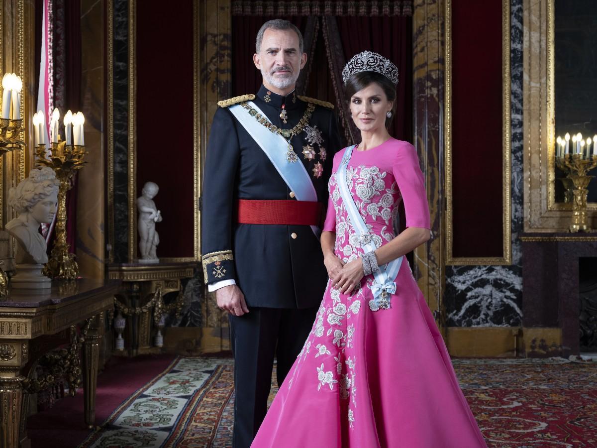 Le roi Felipe VI et la reine Letizia