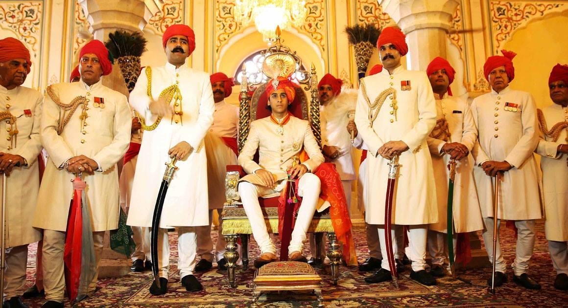 le prince Padmanabh Singh