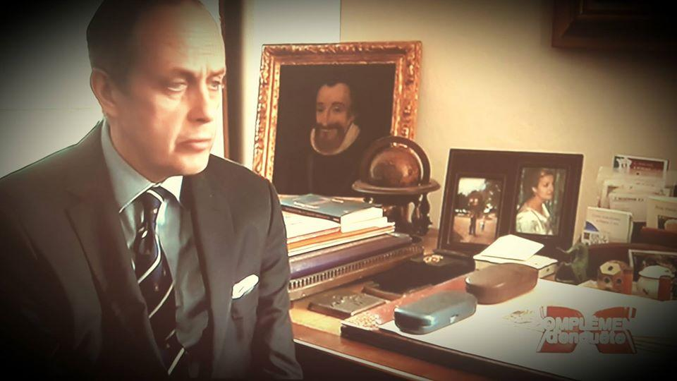Le prince Jean en entretien avec France 2