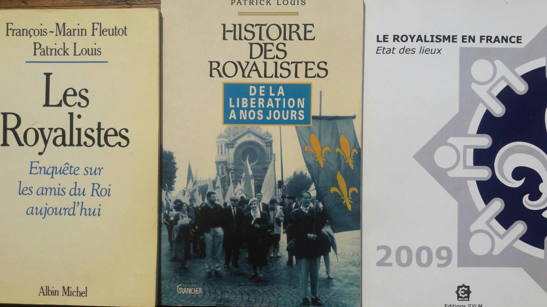 Livre sur le royalisme