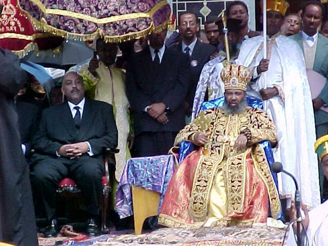 Zera Jacob et le patriarche orthodoxe d'Ethiopie