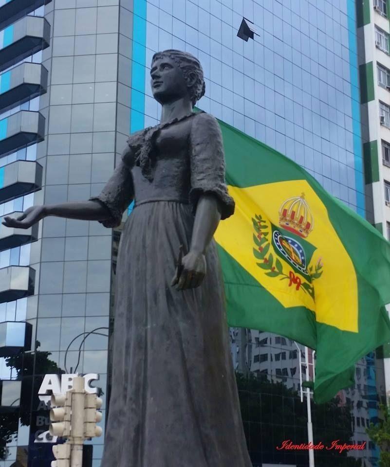 Statue de la princesse Isabelle, à Rio de Janeiro