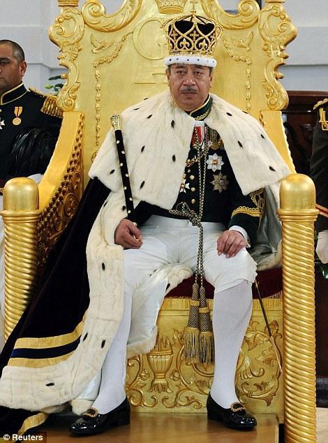 Le roi Tupou VI