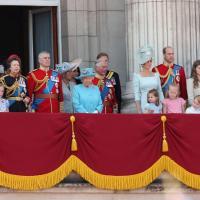 7793706456 la famille royale au balcon du palais de buckingham le 9 juin 2018