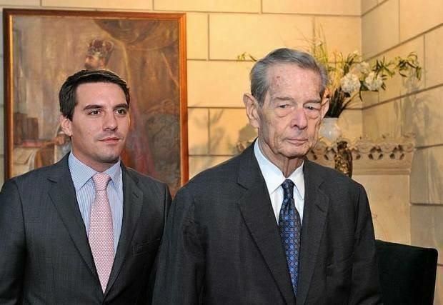 le prince Nicolas et le roi Michel Ier