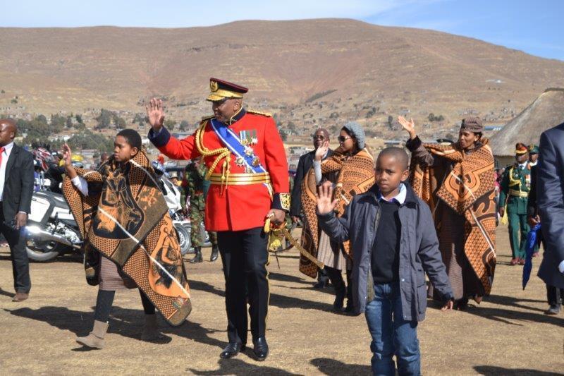 La maison royale du Lesotho
