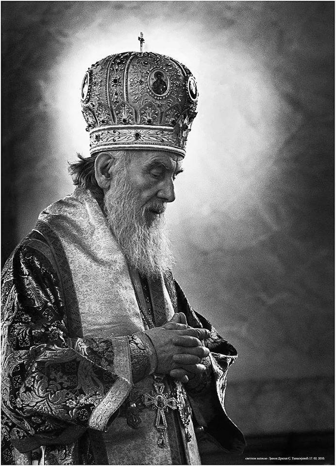Le patriarche Irinej