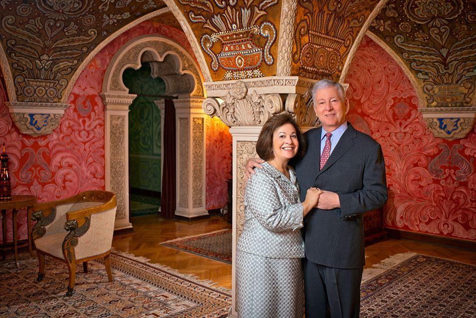 Le prince Alexandre de Serbie et son épouse. Site officiel