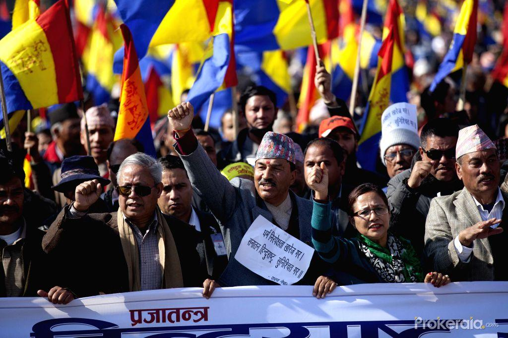 Kamal Thapa et les monarchistes népalais