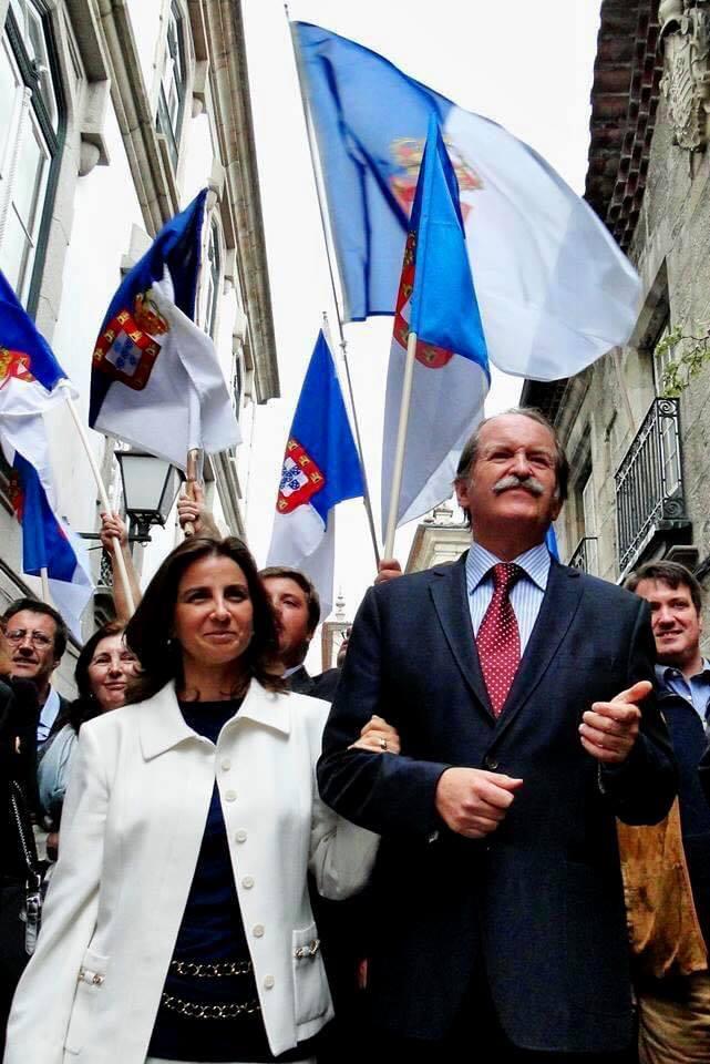 Le duc de Bragance, son épouse, ses partisans