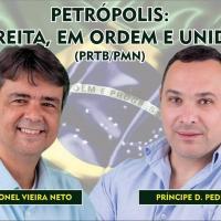 Affiche de campagne du prince pedro thiago