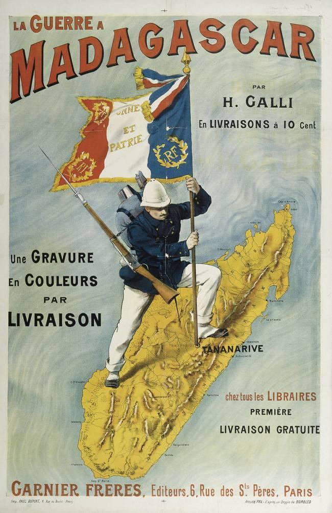 Affiche publicitaire coloniale