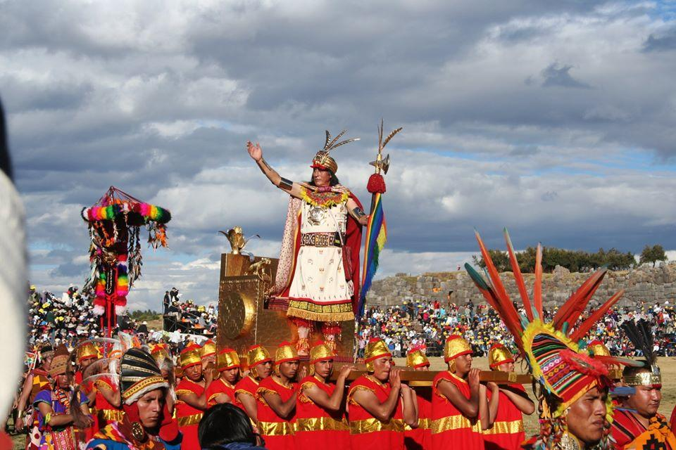 Reproduction de cérémonie inca