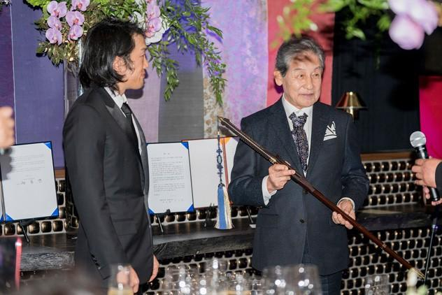Andrew lee et le prince yi seok
