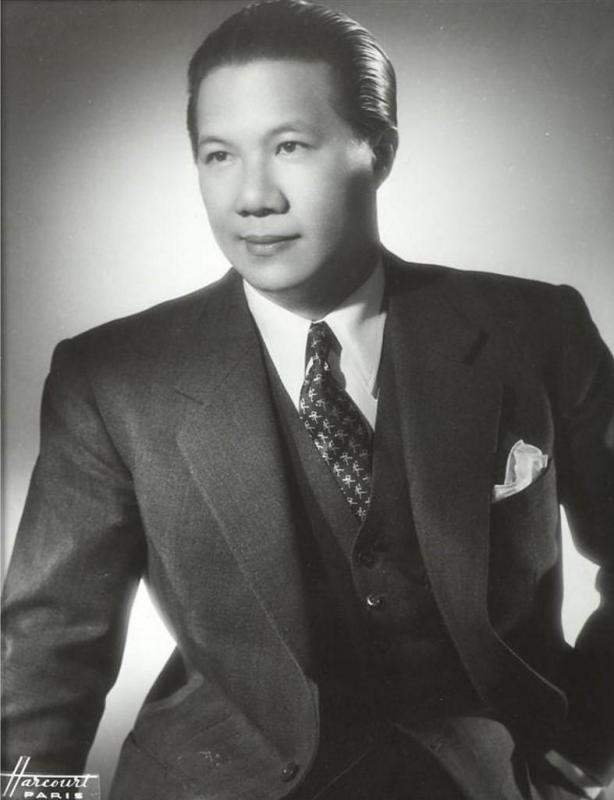 Bao dai dans les annees 1950