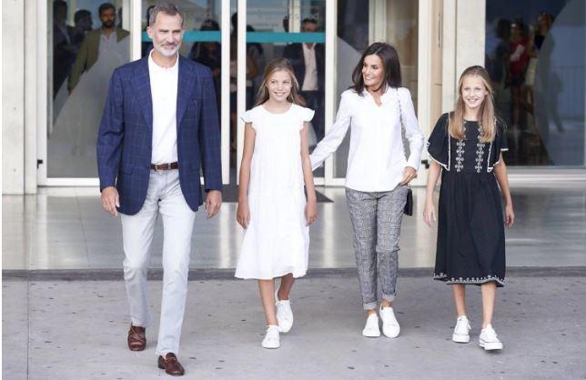 Famille royale d'Espagne  @Borja hojas getty images 1