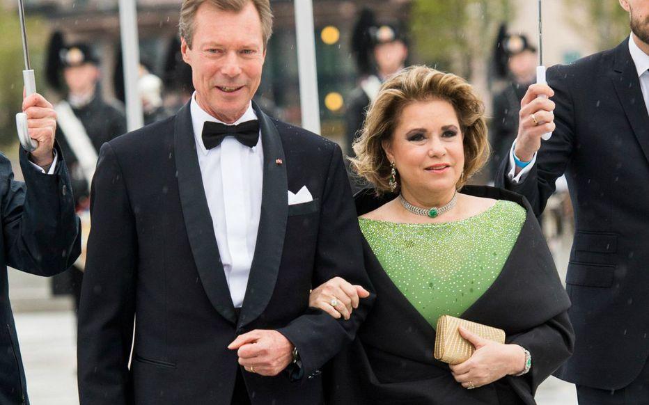 Le Grand-duc et la Grande duchesse du Luxembourg