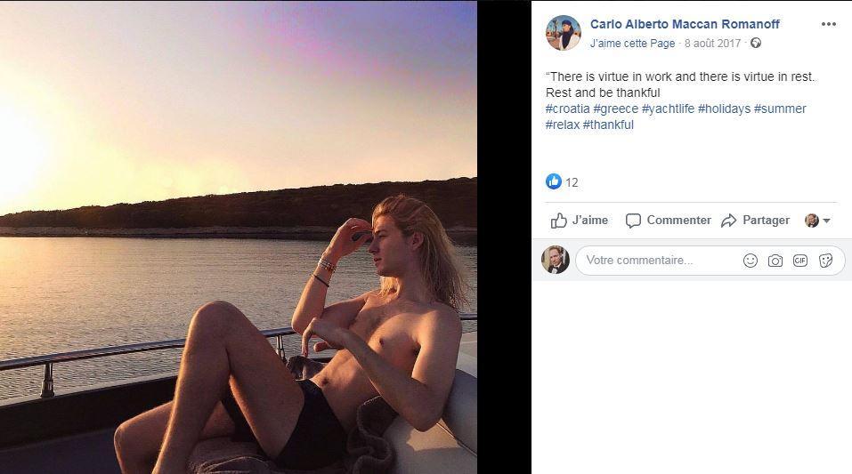 Carlo maccan page facebook
