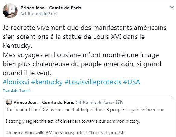 Comte de paris twitter