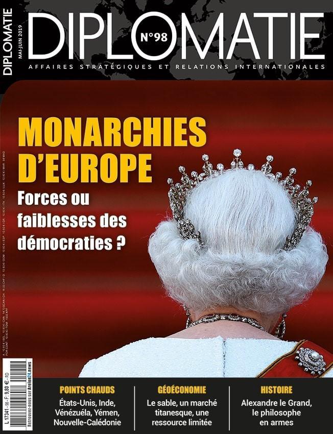 Couverture du magazine diplomatie