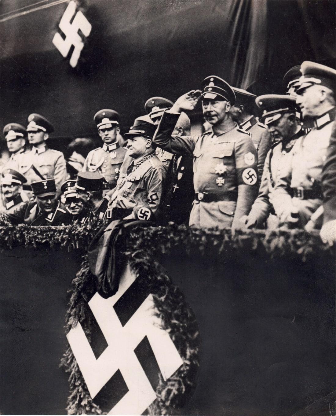 Kronprinz Guillaume en 1938 (AP)