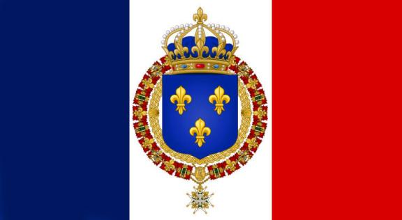 Drapeau royal de france