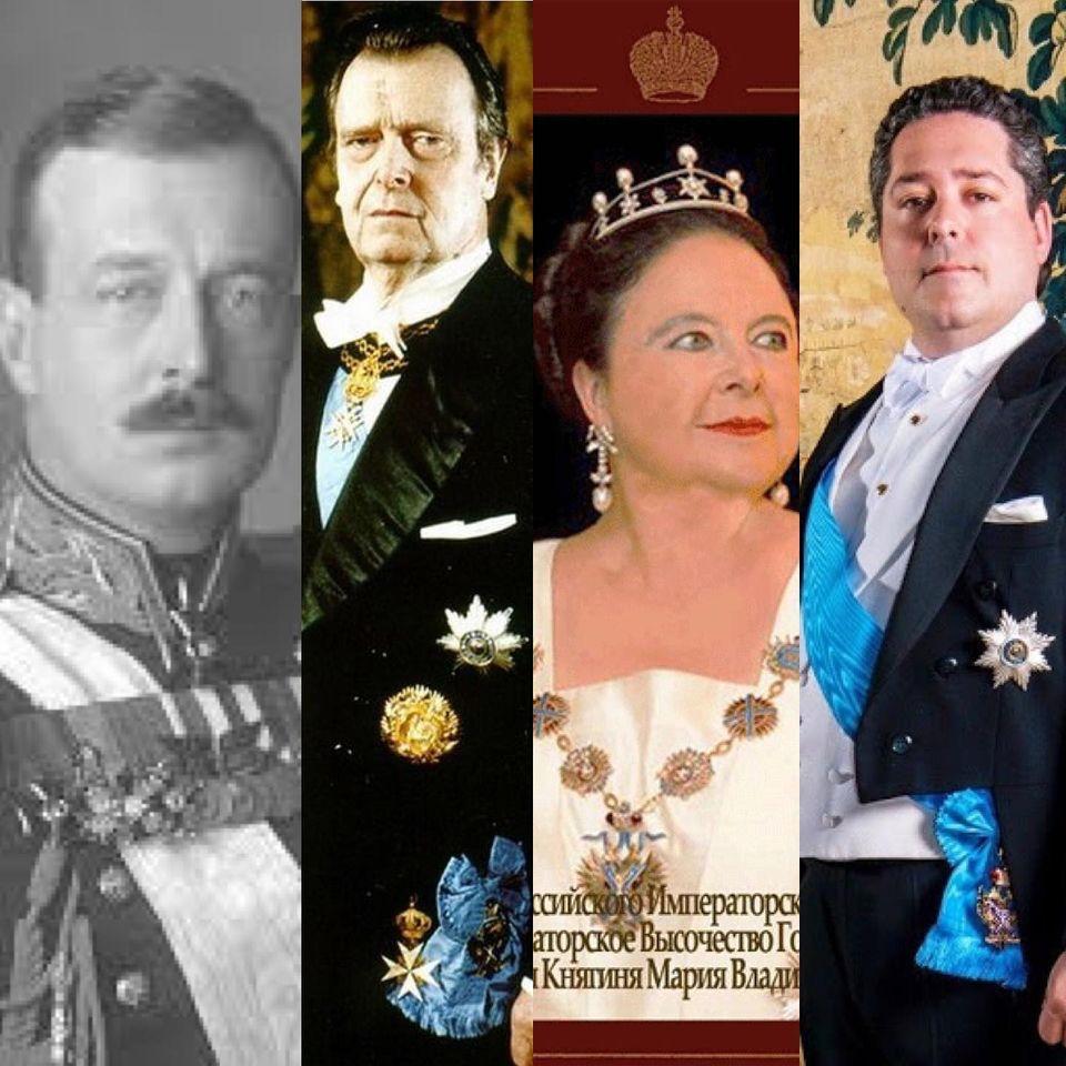 Du grand duc kirill au grand duc george une dynastie les romanov