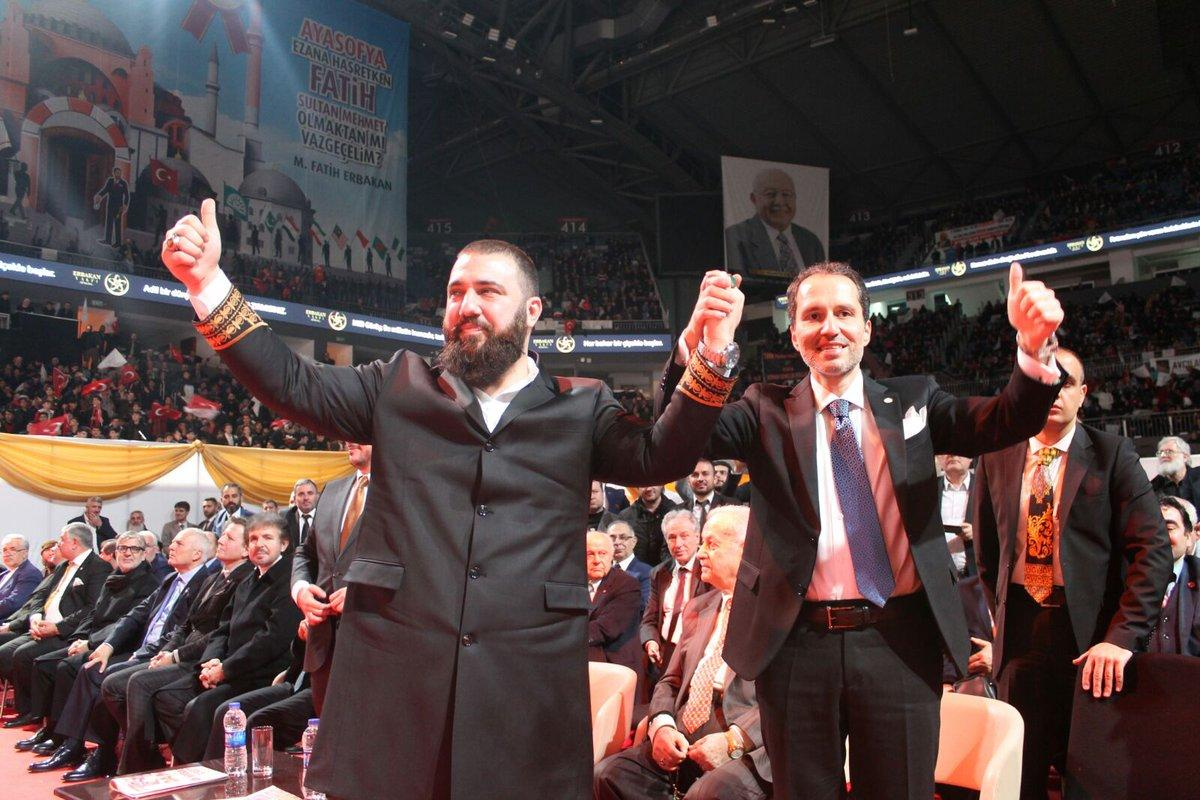 Ehzade abdulhamid kay han osmano lu co dirige le parti refah avec fatih erbakan