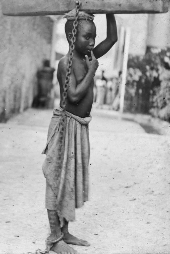 Esclave de zanzibar