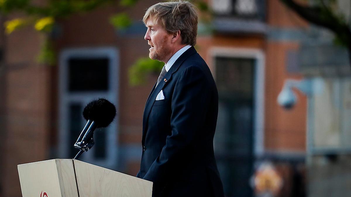 Le roi Willem Alexander des Pays- Bas
