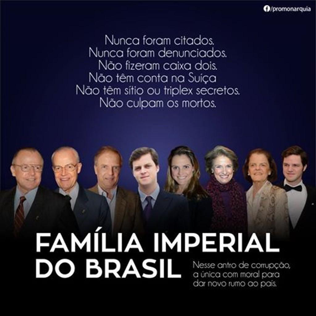 Famille imperiale du bresil