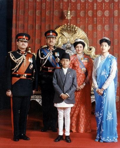 Famille royale en 2001