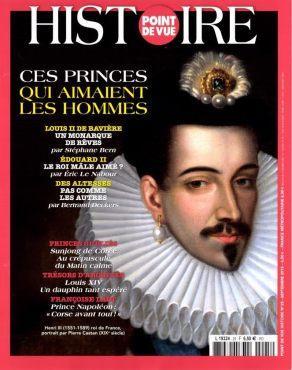 Couverture du magazine Point de Vue -Histoire sur les homosexuels dans la monarchie