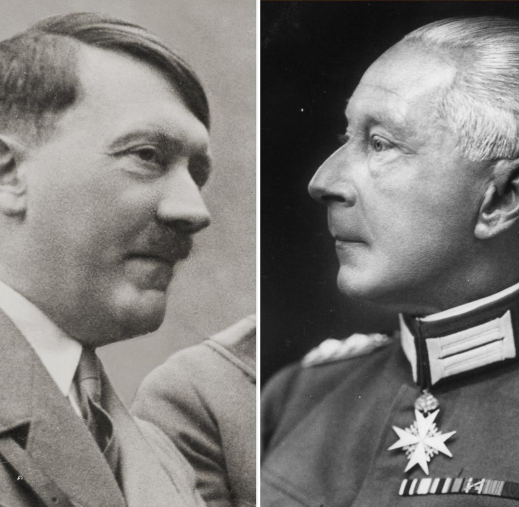 Hitler et le kronprinz guillaume
