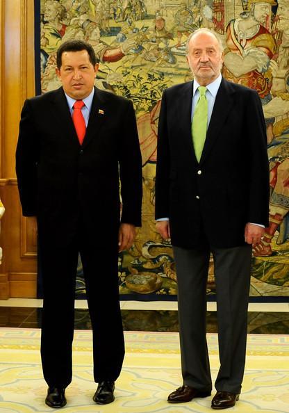 Hugo chavez et juan carlos i