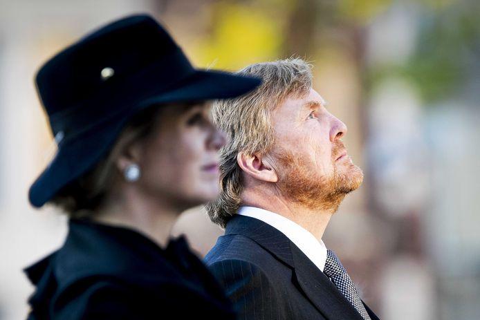 La reine Maxima et le roi Willem -Alexander des Pays-Bas persgroep 1