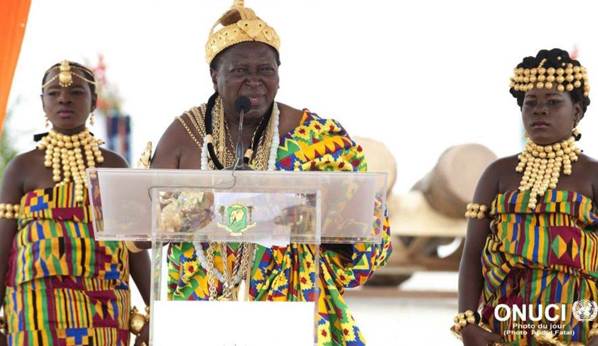 Inauguration de la chambre nationale des rois et chefs traditionnels