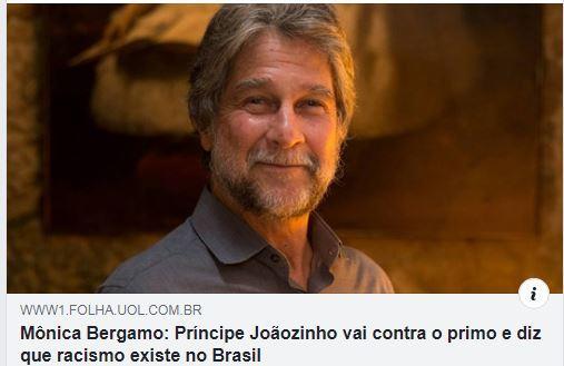 Dom Joao d'Orléans-Bragance s'oppose à son cousin dans la presse
