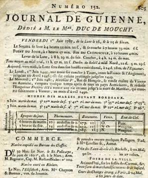 Journal de guienne