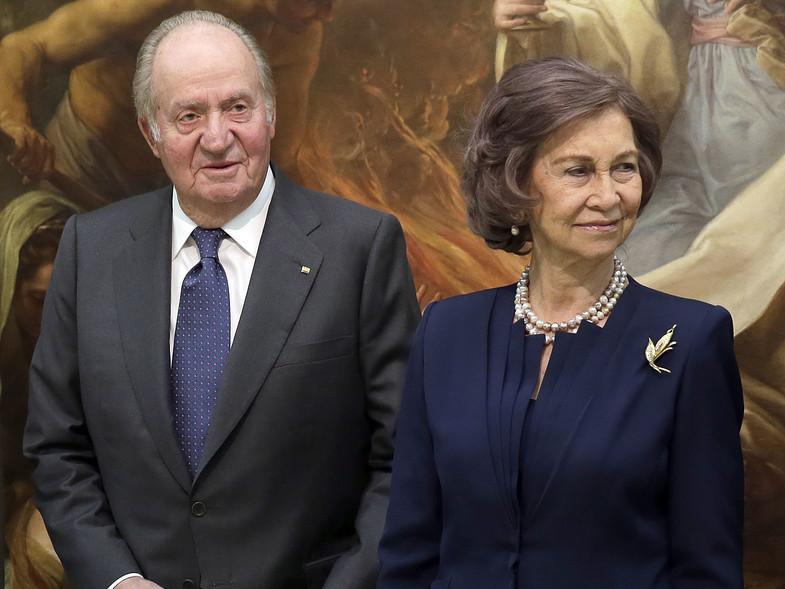 Juan carlos et sophie de grece