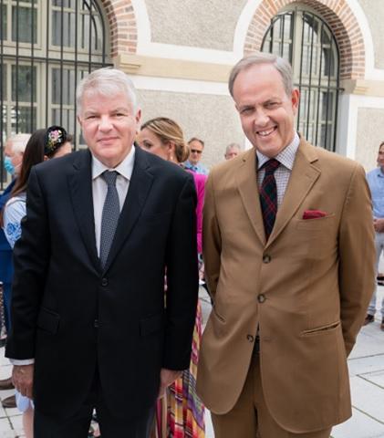 L ambassadeur de russie et le prince jean