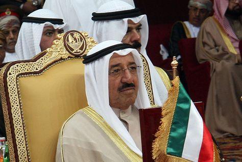 L emir du koweit al Sabah IV