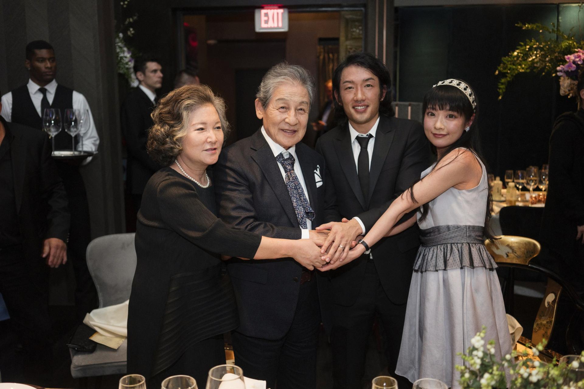 La famille imperiale de coree, les princes Yi et Andrew Seok