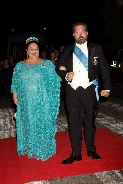 La grande duchesse maria et son fils george romanov